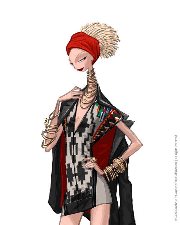 12 chòm sao hóa thân thành các fashionista thời thượng trên tạp chí - 3