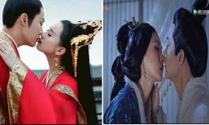 4 nụ hôn bị ném đá nhiều nhất trên màn ảnh Hoa ngữ