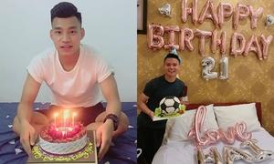 Fan mừng sinh nhật 8 chàng U23 Việt Nam trong tháng 4