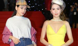 Chi Pu sến sẩm, Ngọc Trinh 'mũm mĩm' trên thảm đỏ tuần lễ thời trang