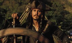 Màn hiện thân ấn tượng của thuyền trưởng Jack Sparrow trong 'Cướp biển vùng Caribbean'