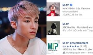Fan 'tá hỏa' trước tin fanpage 10 triệu like của Sơn Tùng 'bốc hơi'