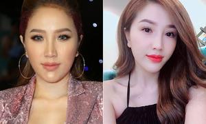 Khác biệt trong ảnh 'bị chụp' và selfie của loạt sao Việt bị nghi ngờ dao kéo