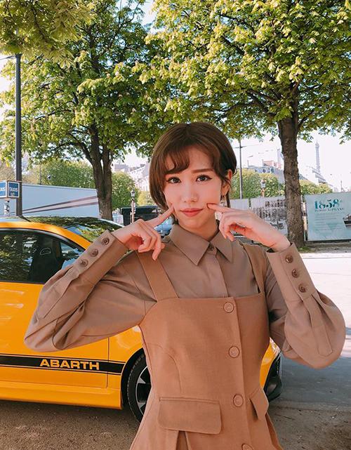 Phong cách ăn mặc đậm chất Hàn, nổi bật mà không cần hàng hiệu giúp Min được đánh giá là một fashion icon thực thụ trong Vbiz.