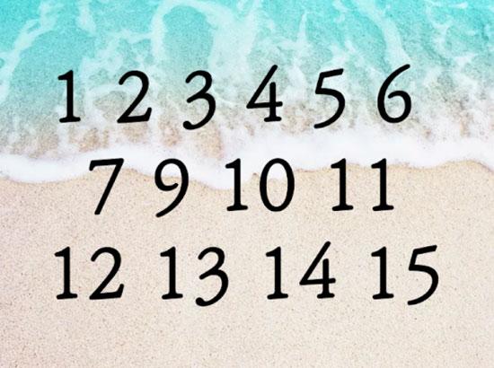 Chỉ 5 giây, bạn có thể tìm ra con số còn thiếu? - 2