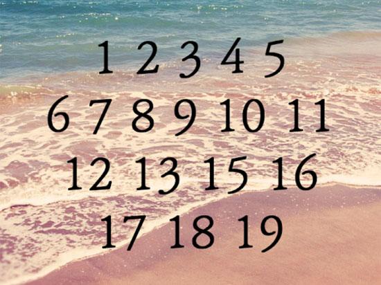 Chỉ 5 giây, bạn có thể tìm ra con số còn thiếu? - 3