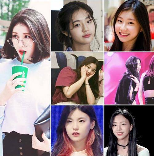 Nhiều tin đồn cho rằng 7 cô gái này là những thí sinh chắc chân có mặt trong nhóm mới vì xuất hiện cùng nhau ở công ty.