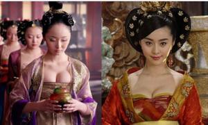 Mỹ nhân cổ trang Hoa ngữ ngày nay: Đắp phụ kiện vào người, ăn mặc thiếu vải