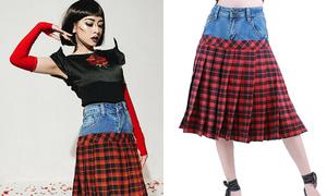 'Váy tụt Chi Pu' giá 550k vẫn đắt khách
