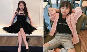 7 hot girl nhí xứ Hàn mặc sang chảnh chẳng kém các idol