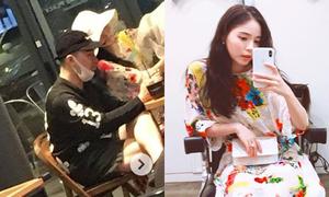 Tae Yang dắt tay Min Hyo Rin đi hẹn hò