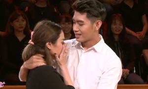 Thái Trinh bật khóc vì câu nói xúc động của Quang Đăng