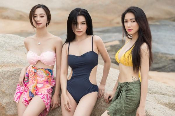 3 cô nàng được chọn tham gia phim ngắn Wanderlust. Đây là lần đầu tiên Hoà MinZy, Jun Vũ và Sĩ Thanh kết hợp với nhau trên phom ảnh. Họ cùng thành lập một nhóm bạn mới với tên gọi Rực rỡ girls.