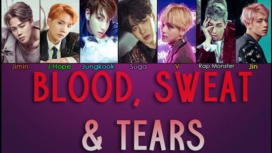 Chính xác!Blood, Sweat & Tears