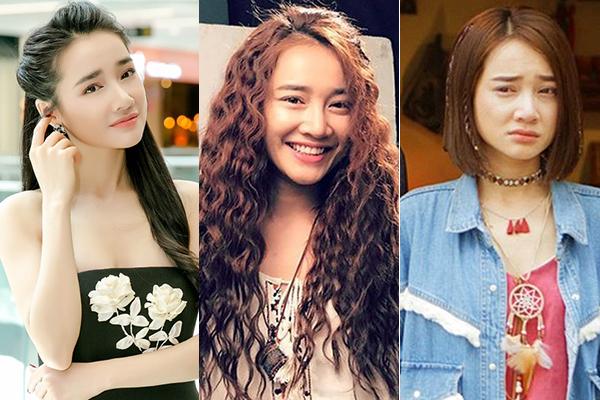 Nhã Phương vốn trung thành với hình ảnh dịu dàng. Những lần thay đổi kiểu tóc của người đẹp hầu hết đều để phục vụ cho các vai diễn.