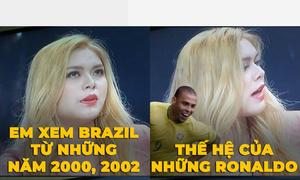 Hai hot girl gây cười vì phát ngôn ngô nghê về bóng đá