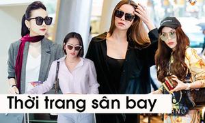 4 người đẹp Việt tranh ngôi 'nữ hoàng thời trang sân bay'