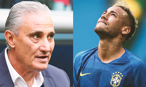 HLV Tite: 'Nước mắt của Neymar không phải do sự yếu đuối'