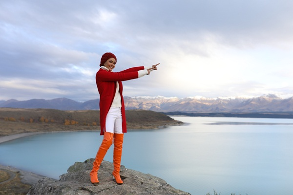 Cảnh đẹp ở hồ Pukaki.