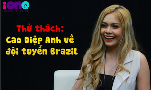 Thử thách World Cup: Hot girl Cao Diệp Anh hiểu Brazil đến đâu?