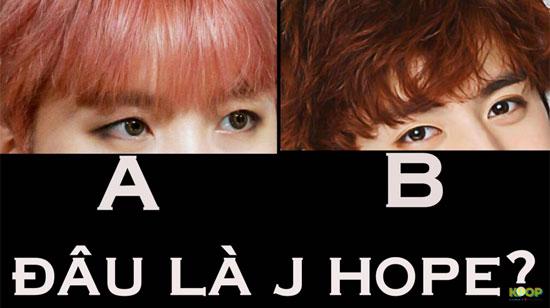 Nhìn mắt phân biệt các thành viên BTS (2)