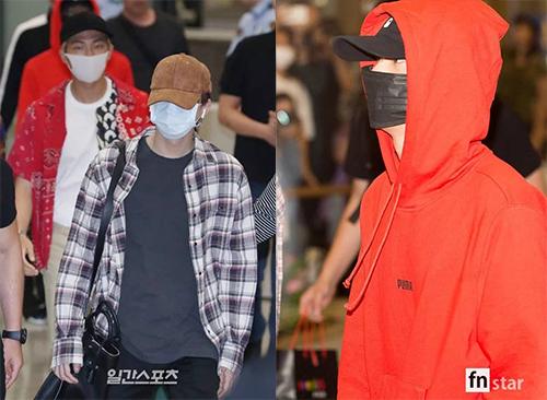 Nhiều ý kiến khó chiuj khi BTS mặc trang phục quá dày, che chắn kỹ ở sân bay.