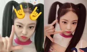 Jennie 'phá luật' khi buộc tóc hai bên lên sân khấu
