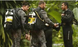 Hollywood định làm phim về vụ giải cứu các thành viên đội bóng nhí Thái Lan