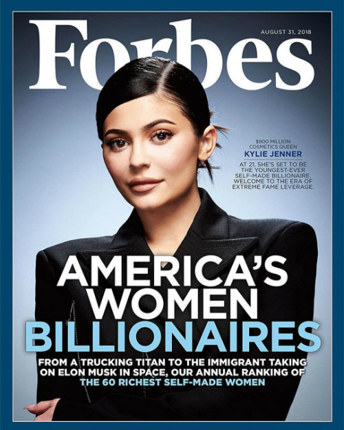 Forbes giới thiệu: Nữ hoàng mỹ phẩm 900 triệu USD - Kylie Jenner.