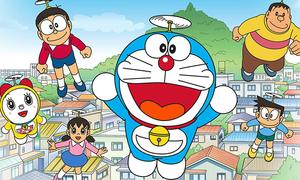 Các nhân vật trong Doraemon này tên là gì?