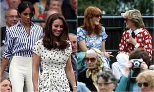 Tình chị em Kate và Meghan gợi nhớ hình ảnh Công nương Diana
