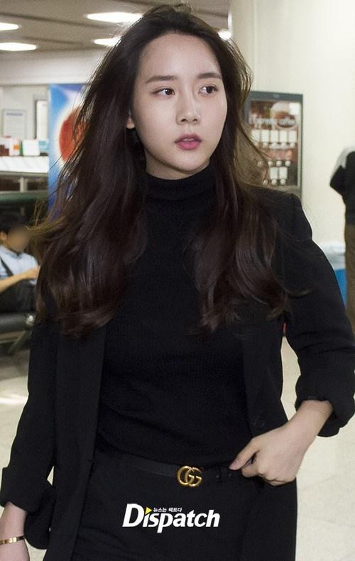 Han Seo Hee ăn diện khi ra tòa vụ hút cần sa.