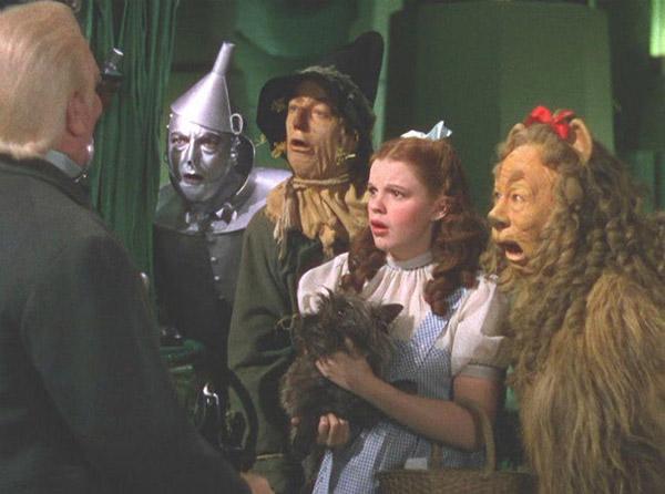 Dorothy và những người bạn của mình có một hành trình thú vị.
