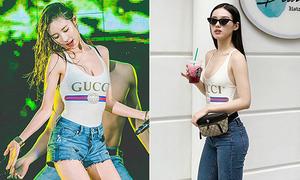 Chiếc áo siêu tôn dáng được lòng từ mỹ nhân Hàn đến Việt