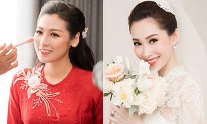 3 kiểu trang điểm 'cao tay' của người đẹp Việt khi làm cô dâu