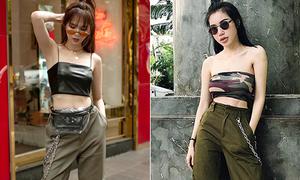 Sao Việt thôi 'sến' khi diện chung một kiểu mix đồ cool ngầu