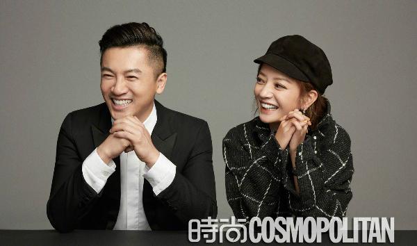 Bộ ảnh Triệu Vy - Tô Hữu Bằng trên Cosmopolitan Trung Quốc số tháng 9.