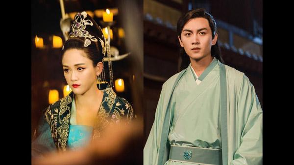 Hơn bạn diễn 8 tuổi nhưng Trần Kiều Ân vẫn vô cùng xứng đôi với đàn em.
