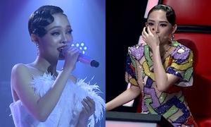Thí sinh Giọng hát Việt khiến Tóc Tiên bật khóc lần hai