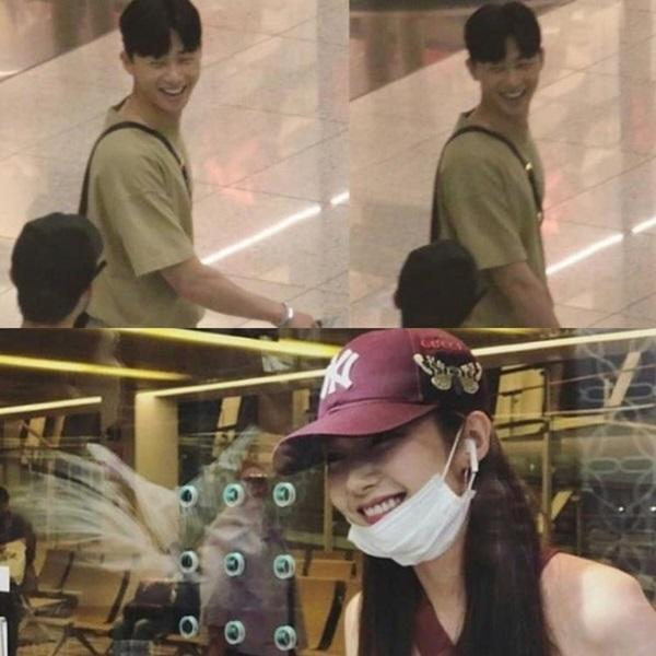 Park Min Young và Park Seo Joon tại Thái Lan.