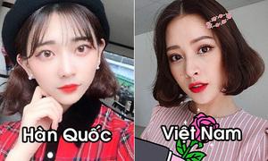 Điểm khác biệt trong cách trang điểm của con gái 5 nước châu Á