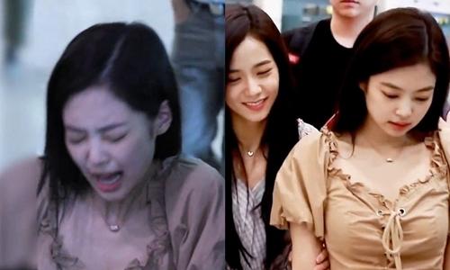 Tâm trạng buồn bã của Jennie sau khi bị đau chân.