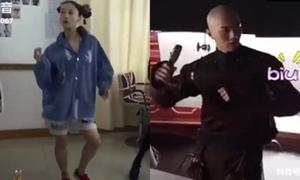 Anh Lạc - Phó Hằng 'quẩy banh nóc' trên nền nhạc hit Vpop
