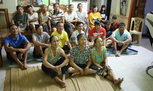 Không khí bóng đá 'nóng rực' tại gia đình Bùi Tiến Dũng, Công Phượng