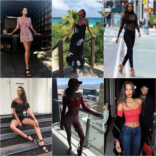 Phong cách thời trang đời thường của các thiên thần Victorias Secret - 5