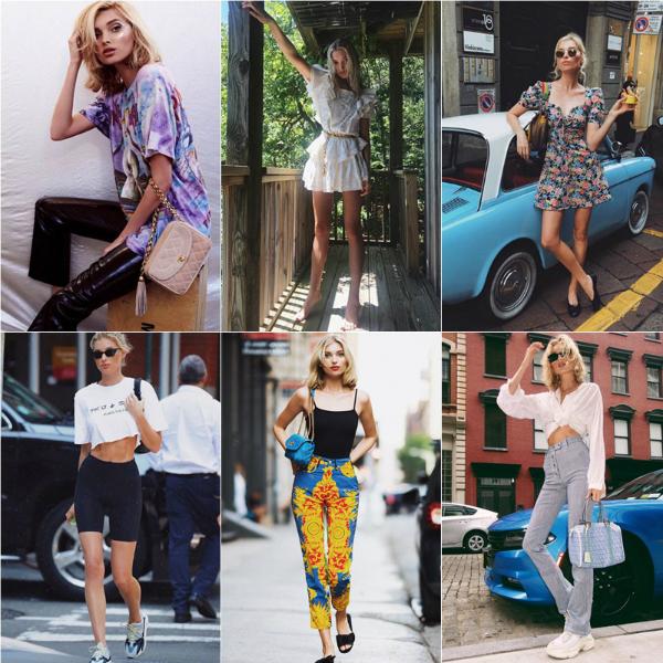 Phong cách thời trang đời thường của các thiên thần Victorias Secret