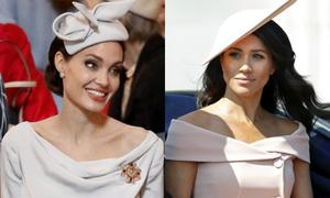 Phong cách thời trang của Angelina ảnh hưởng tới Meghan như thế nào?