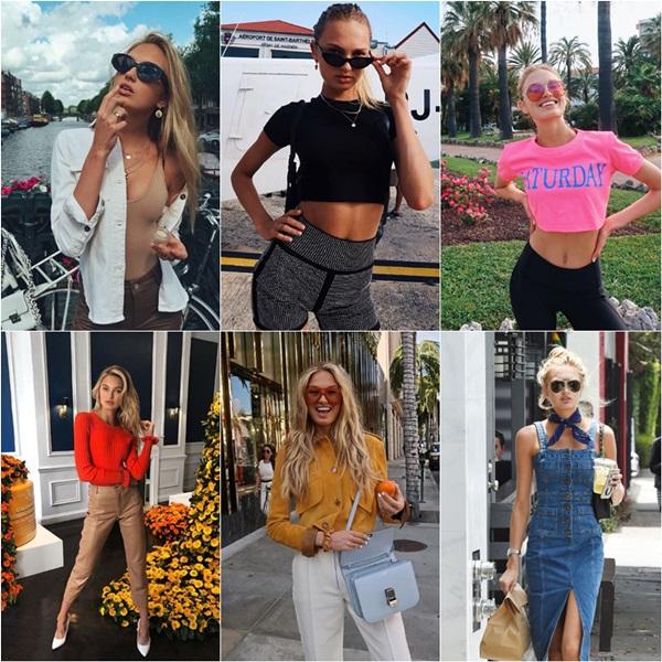 Phong cách thời trang đời thường của các thiên thần Victorias Secret - 2
