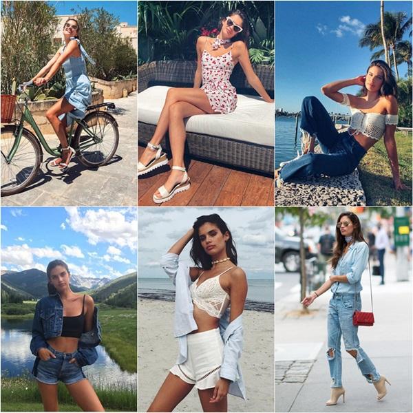 Phong cách thời trang đời thường của các thiên thần Victorias Secret - 3