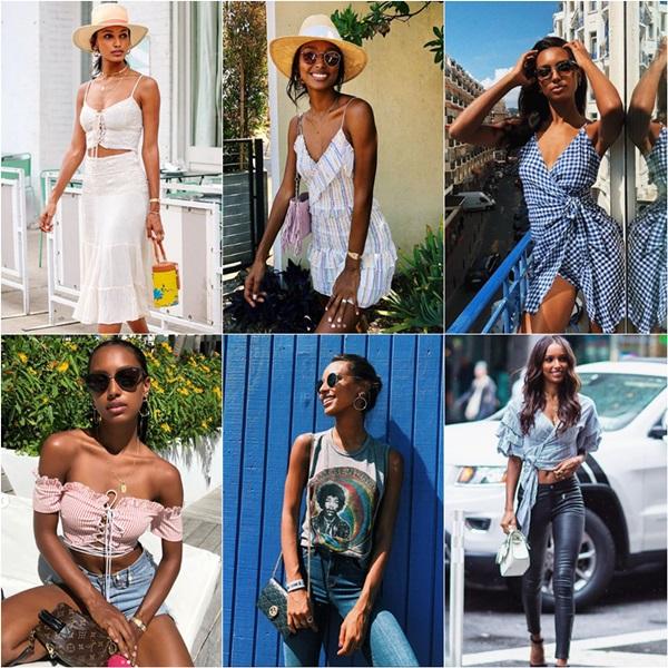 Phong cách thời trang đời thường của các thiên thần Victorias Secret - 4